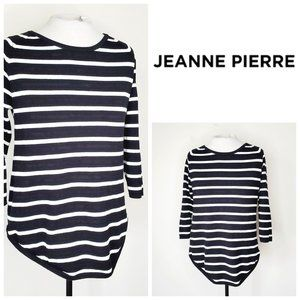 JEANNE PIERRE 100% Cotton French Marina Top